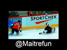 Hockey hits - Chris Neil crush Johnny Boychuk Channel, Of Montreal, Hockey, Crushes, Baseball Cards, Field Hockey