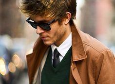 The GENTLEMEN of the WEEK. Adam Gallagher, la juventud de la moda masculina
