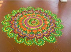 Rangoli Designs Latest, Latest Rangoli, Rangoli Designs Images, Simple Rangoli Kolam, Kolam Rangoli, Rangoli Patterns, Rangoli Ideas, Welcome Home Decorations, Happy Diwali Images