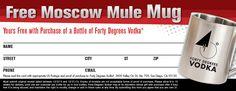 Free Moscow Mule Mug