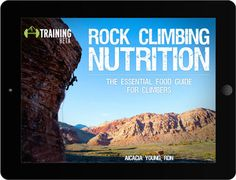 It's a 66-page digital nutrition guide written specifically for climbers that discusses:  the basics of metabolism theories of sports nutrition climbing and rest day guidelines tips to prevent injuries and illness supplement recommendations sample 2-day meal plans for omnivores vegetarians vegans and paleo athletes and over 15 delicious recipes