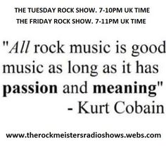 The Tuesday Rock Show 24/02/15 Hour 1