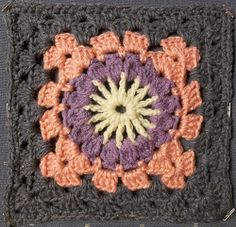 Ravelry: Project Gallery for Granny Square 72 pattern by Carla Bentley
