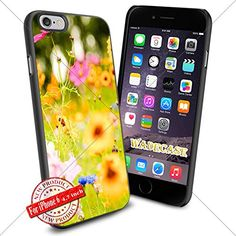 Flower WADE7620 iPhone 6 4.7 inch Case Protection Black Rubber Cover Protector WADE CASE http://www.amazon.com/dp/B015AZYWHQ/ref=cm_sw_r_pi_dp_JaAFwb0SAST1B