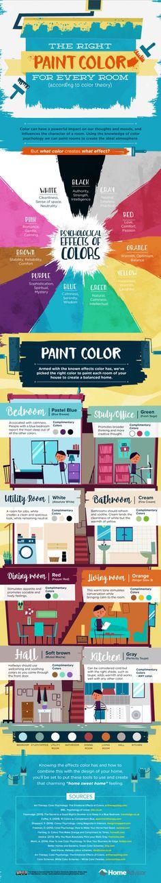Paint color infographic