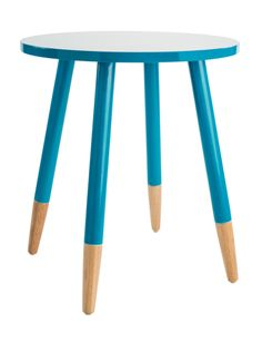 Farmers - Add a modern look to your living area with this Payton side table. Teal, White, Cement. 140 W 500 x D 500 x H 560