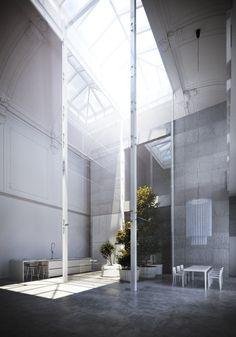 Dining Room, Loft Monza Piero Lissoni