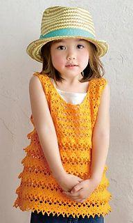 Sawayaka crochet tank top pattern