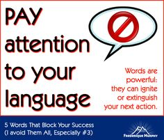 5 Words That Block Your Success (I Stopped Using Them All, Especially #3!) | Frederique Murphy | Mountain Moving Mindset | Inspiration | Strategy | Leadership | Neuroscience