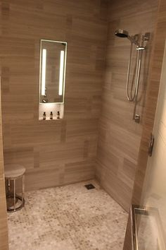 The Park Hyatt, New York - superb room and service! Shower Mirror, Cabinet Furniture, Room, Bedroom, Rum
