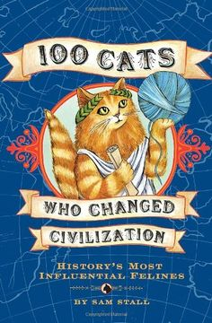 """100 Cats Who Changed Civilization"" av Sam Stall 'A Book with a Cat on the Cover' Mine is a Swedish edition"