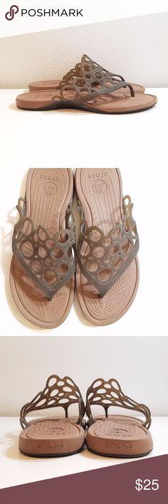 Crocs Sandles Flip Flops Really comfortable and cute Crocs Sandles Flip Flops. Good condition CROCS Shoes Sandals