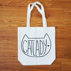 Use a fabric marker and a free printable to create this Crazy Cat Lady tote, from The Pink Samurai.
