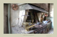 HDR kitchen in Castle