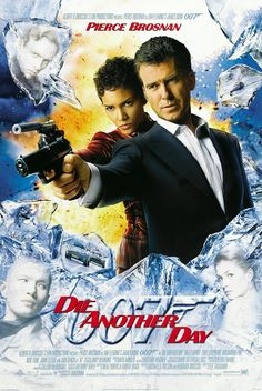 #21 DIE ANOTHER DAY / 2002 PIERCE BROSNAN bond girl: HALLE BERRY & ROSAMUND PIKE