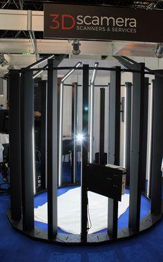 Full body 3D scanner