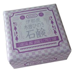 Japanese Charcoals and Hinoki cold process soap 75g/2.7oz by TOMOEKOBO on Etsy https://www.etsy.com/listing/183077007/japanese-charcoals-and-hinoki-cold