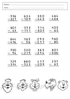 Pin by Jime Name on School Math Practice Worksheets, Math Coloring Worksheets, After School, Back To School, Abacus Math, Math Exercises, Math Practices, Homeschool Math, Activities