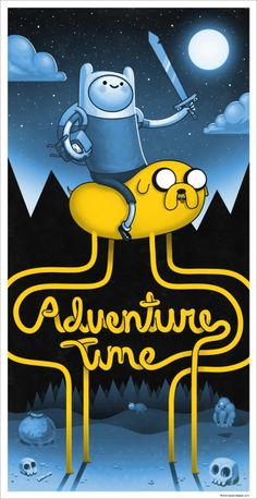 Adventure Time - Variant by Mike Mitchell