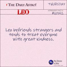 Leo Daily Astro!: Ever feel like you're not your sign?  Maybe your birth chart holds some clues.   Visit iFate.com today!