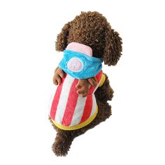 Speedy Pet Dog Clothes Cat Apparel Adorable Costume Hoody One Piece Chopper Multi Sizes ** Quickly view this special dog product, click the image : Costumes for dog