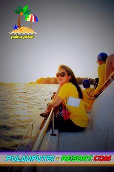 Sunset Cruise on Pulau Putri Resort Jakarta. #sunset #pulauputri
