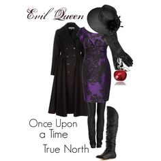 "My take on the Evil Queen's outfit from Once Upon a Time's ""True North"""