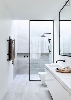 Bathroom bliss #Kazu #great lines and materials