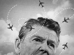 Reagan had 10,000 employees of PATCO (professional Air Traffic Controllers) fired for going on strike. His strict following of the Taft-Harley Act, which limited the power of labor unions, made his favor of big corporations over labor very clear.