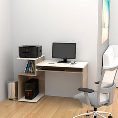 ESCRITORIO ATLANTER-Olivo Home Room Design, Home Office Design, Home Office Decor, Home Decor, Computer Desk Design, Computer Laptop, Furniture Decor, Furniture Design, Study Table Designs