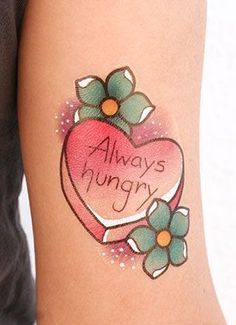 'Tis the season for temporary food tattoos.