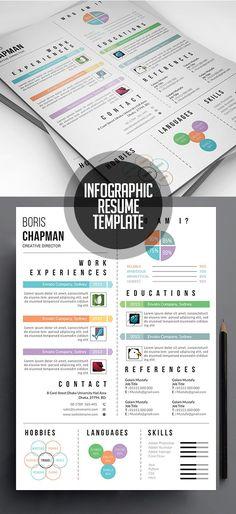 Creative Infographic Resume/CV Template