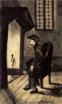 Near Hearth by Vincent van Gogh (1853 -1890): Dutch Post Impressionist Painter. http://www.wikipaintings.org/en/vincent-van-gogh/near-the-hearth-1881