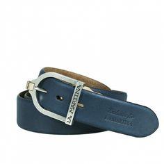 Cintura in pelle La Martina prodotto realizzato in pelle Vintage 9b2e31ad8f4