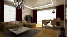غرفة المعيشة هي انعكاس لشخصيتك مع لمسة خاصة بك  Your living room can reflect your life with a little flair.