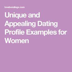 online dating description examples