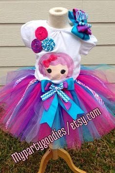 Lalaloopsy outfit tutu lalaloopsy birthday tutu by Mypartygoodies