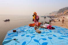 Smoke, Varanasi by Marji Lang, via Flickr