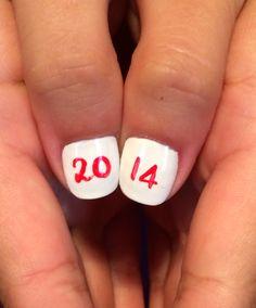 Graduation nursing nails 2014