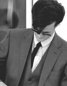 Matt Smith. British men know how to wear a suit. #DoctorWho