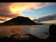 Sunset over Mt Maunganui