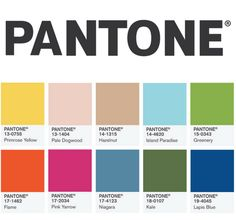 Pantone Colour Report 2017