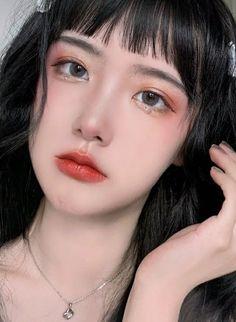 Pretty Korean Girls, Cute Korean Girl, Uzzlang Girl, Girl Face, Very Pretty Girl, Korean Makeup Tips, Beauty Makeup, Hair Beauty, Korea Makeup