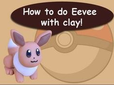 Pokémon Eevee polymer clay tutorial