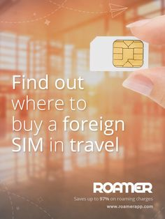 #Love to #travel? Find out where to buy a foreign #SIM in travel! Link your number to it and #SAVE up to 97% on #roaming and #data charges. To get more information check out this link: http://community.roamerapp.com/index.php?%2Ftopic%2F116-where-to-buy-a-sim-store-locator-maps-by-country%2F