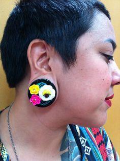 Carol rocking her Funhouse Labs custom ear plugs. Custom Ear Plugs, Labs, Diamond Earrings, Happy, Jewelry, Jewellery Making, Custom Molded Earplugs, Jewelery, Jewlery