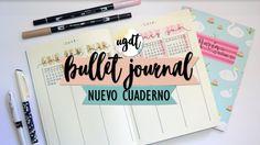 Mi nuevo Bullet Journal - Decoro con acuarela + Registro futuro - UGDT