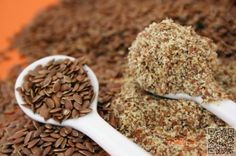 9. Flax Meal - 9 #Fabulous Low Carb Baking #Substitutions for the Healthy #Baker ... → Food #Resistance