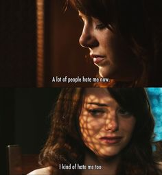 A lot of people hate me now ~ Easy A (2010) ~ Movie Quotes