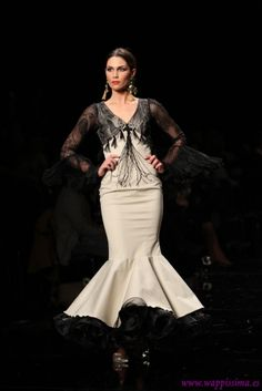 Traje de Flamenca - Pilar-Rubio- - Simof-2015